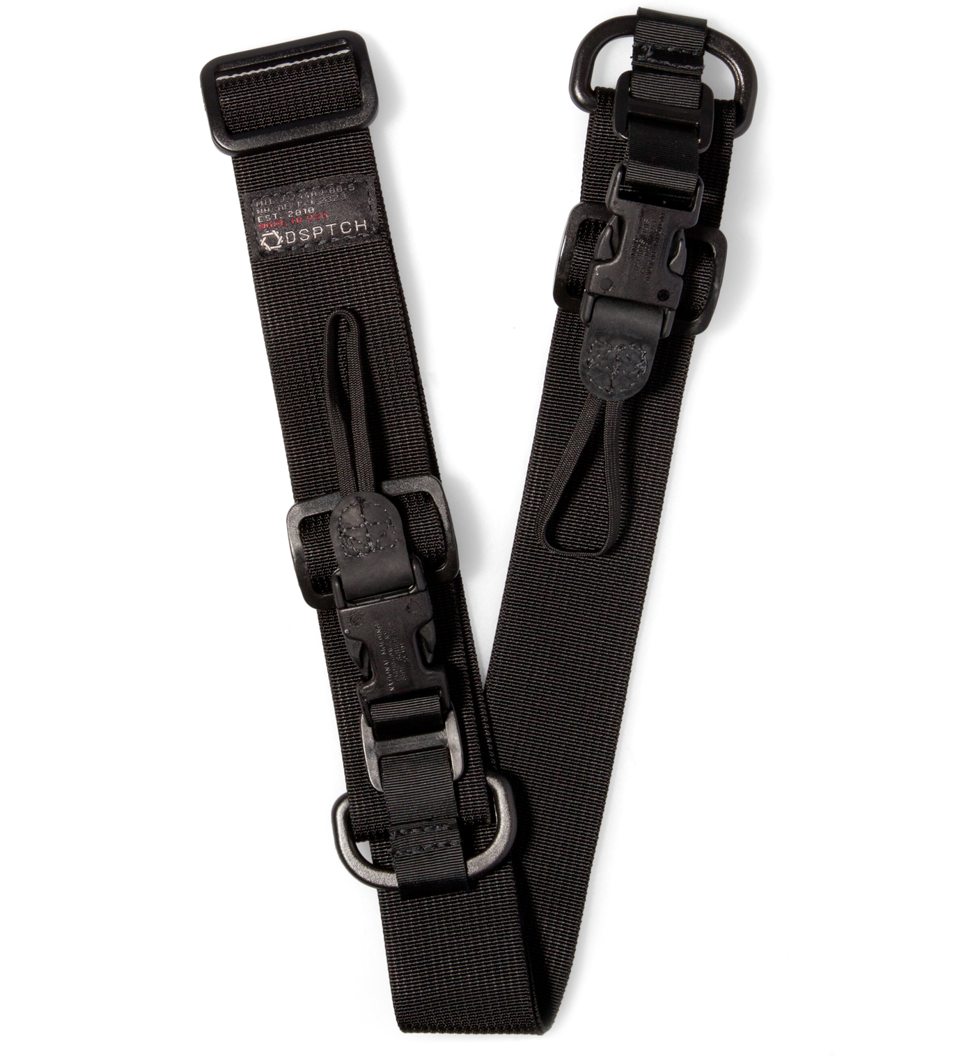 DSPTCH Black Heavy Camera Sling Strap