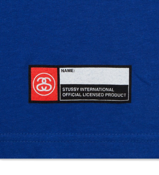 Stussy Blue East Coast T-Shirt