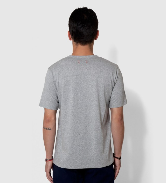 CASH CA Grey Wool Pocket T-Shirt