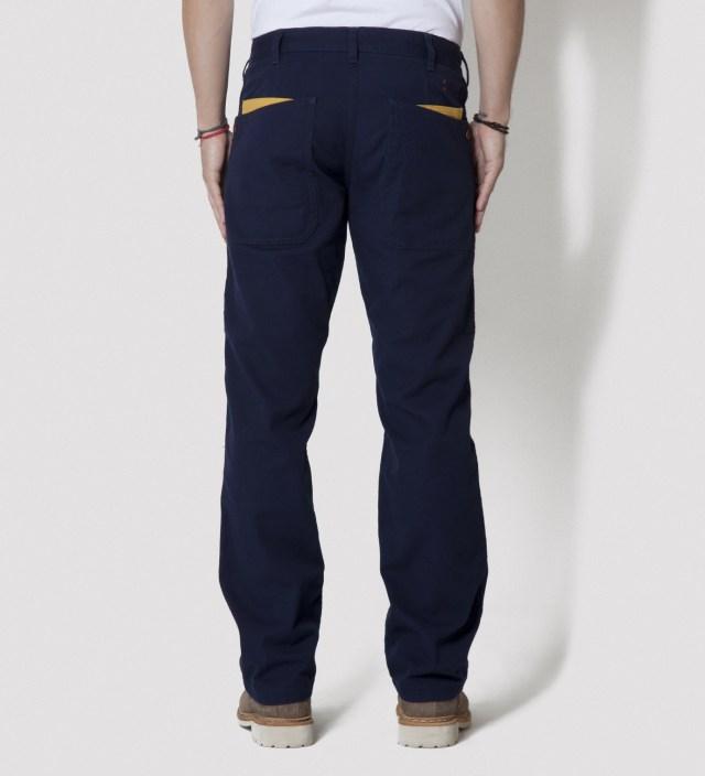 CASH CA Navy Gardening Pants