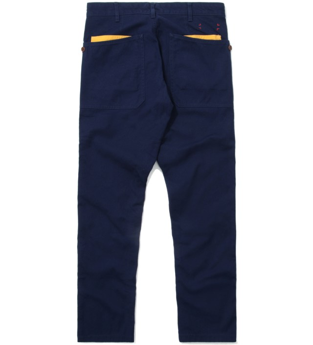 CASH CA Navy Gardening Pants