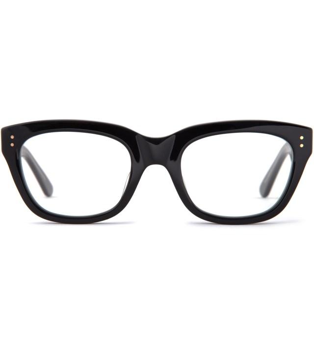 DELUXE Black/Clear Matthew Sunglasses