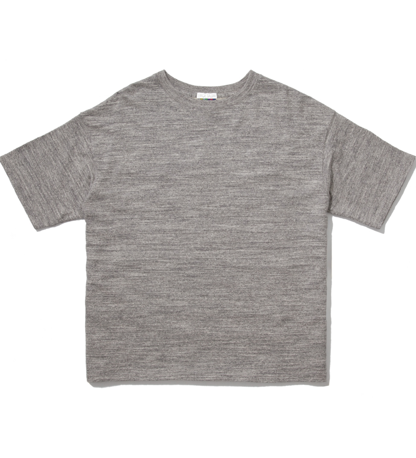 FACETASM Grey x Color Stars And Stripes Big T-Shirt