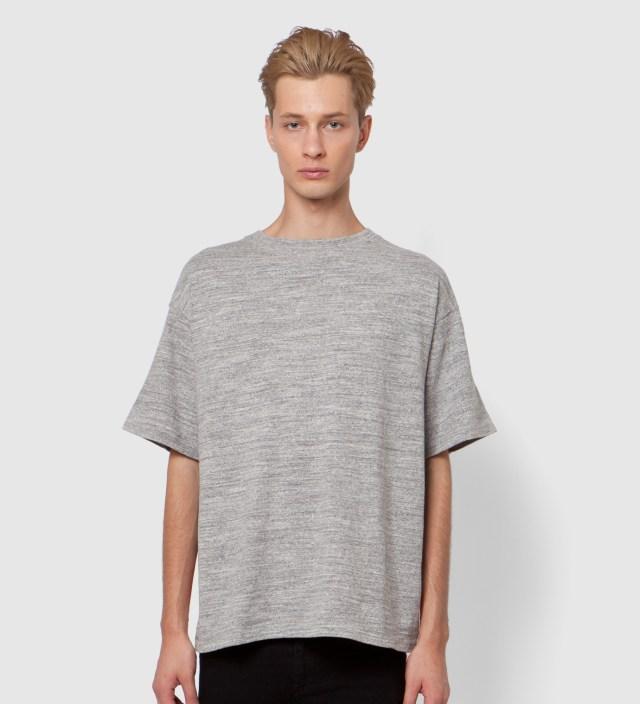 FACETASM Grey x Color Stars And Stripes Big T-Shirt