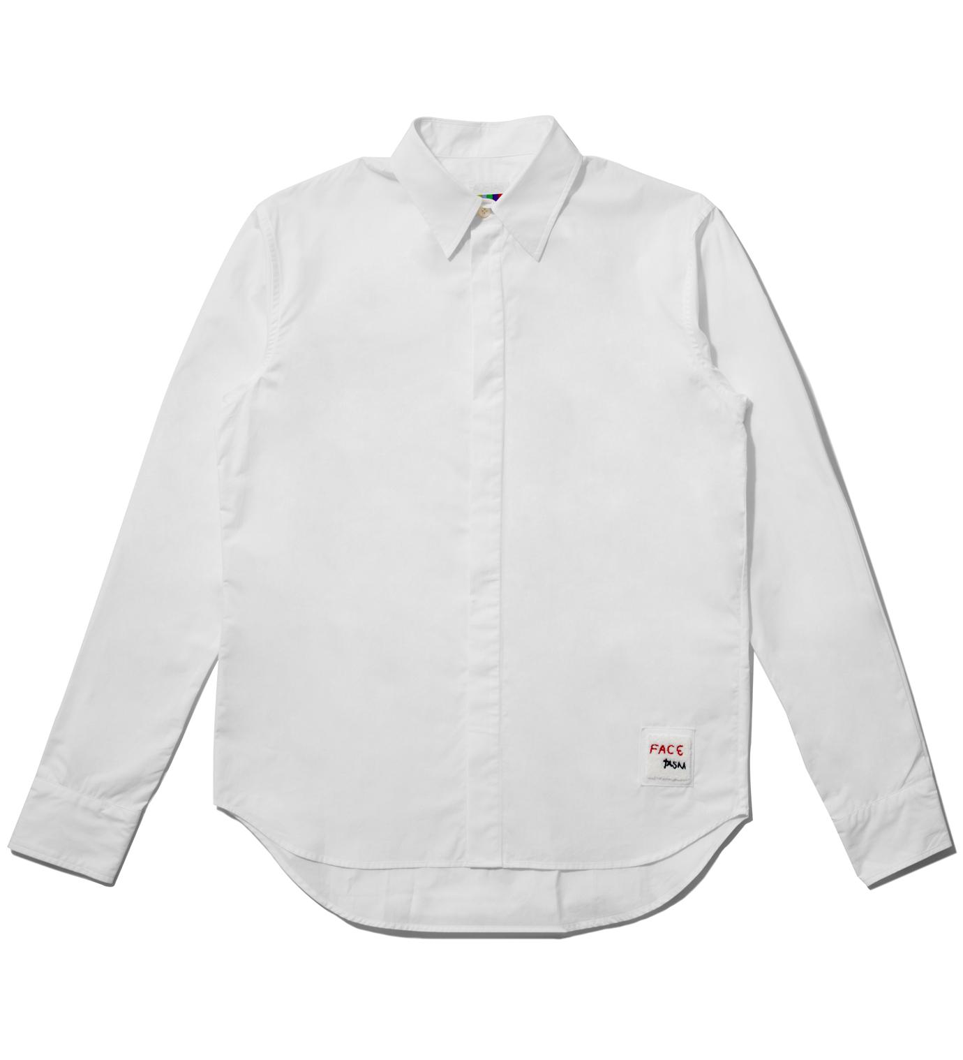 FACETASM White Standard Shirt
