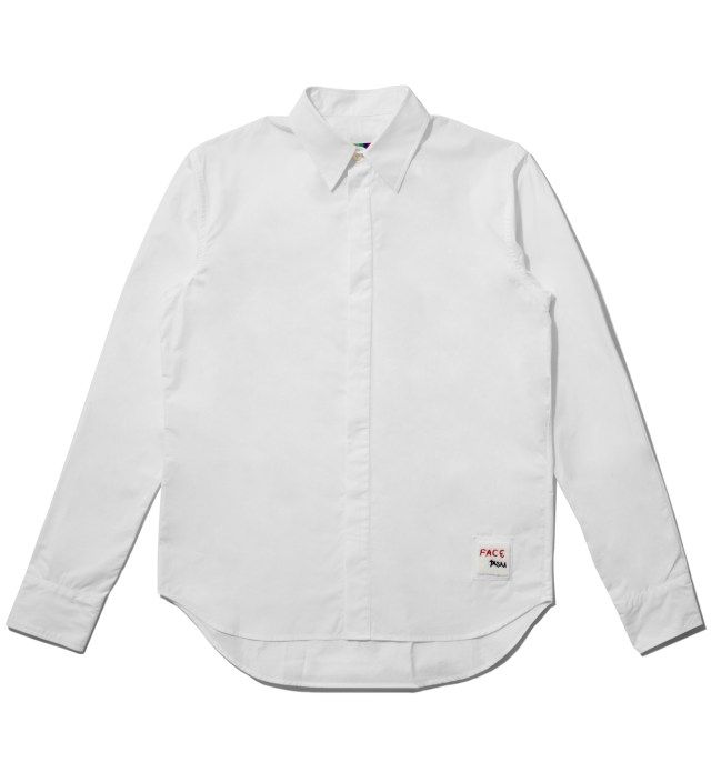 Facetasm White Standard Shirt