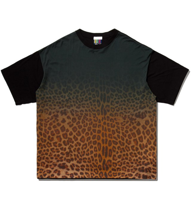FACETASM Yellow Leopard Big T-Shirt