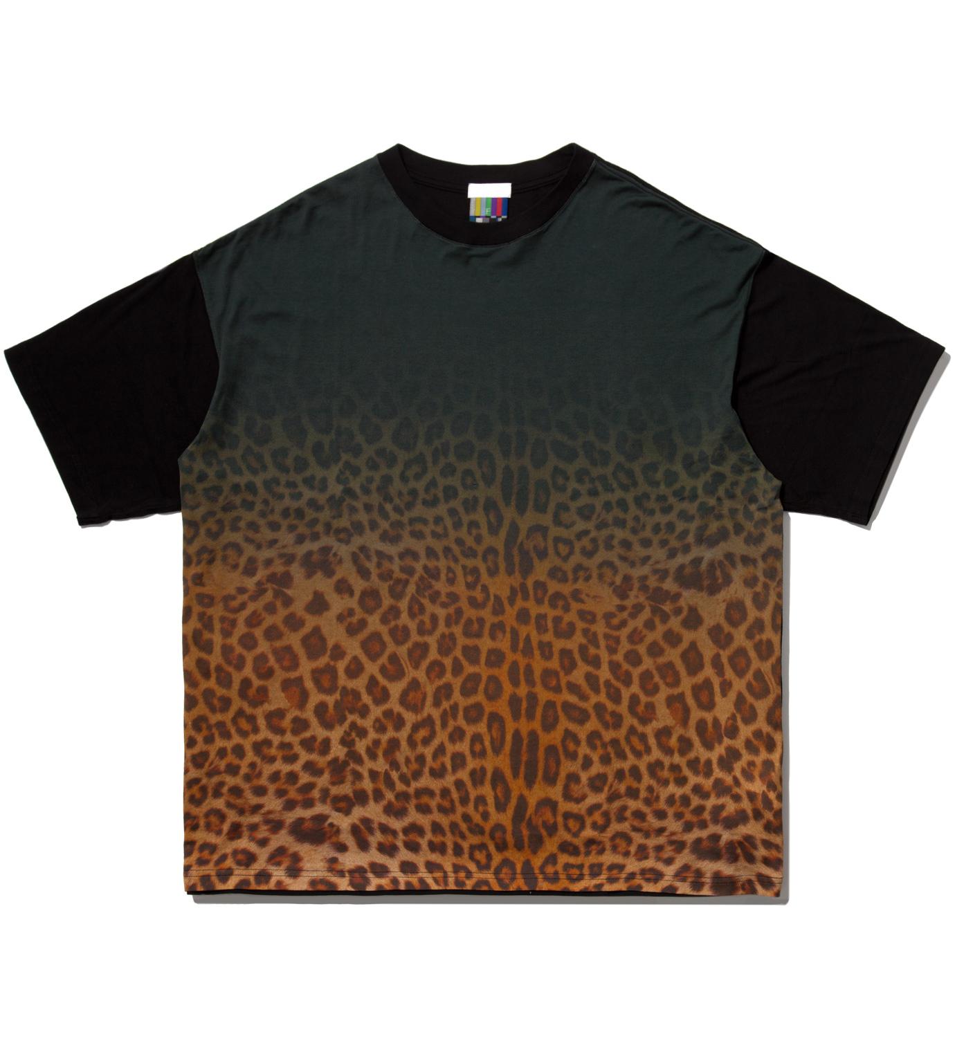 Facetasm Yellow Leopard Big T-Shirt
