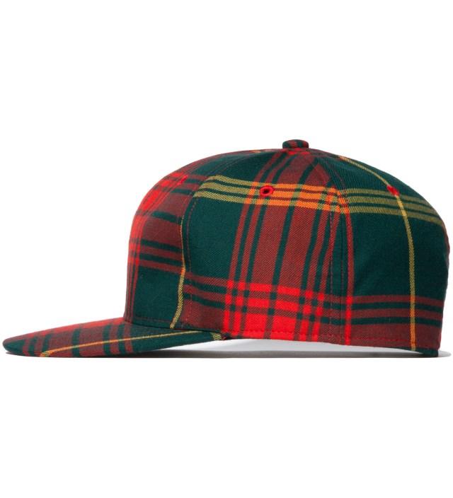 FACETASM Red Tartan Cap
