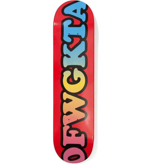 Odd Future Red OFWGKTA Skateboard Deck 7.75""