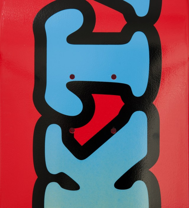 "Odd Future Red OFWGKTA Skateboard Deck 7.75"""