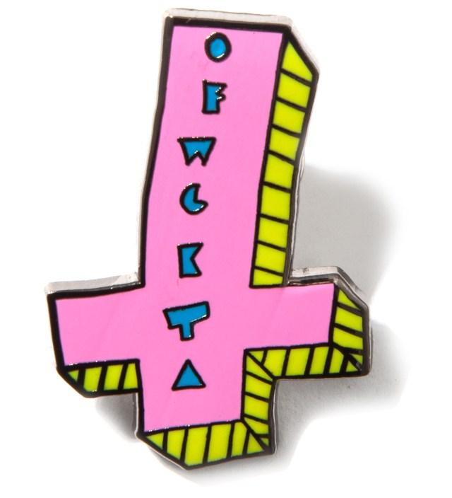 Odd Future OFWGKTA It's Us Cross Enamel Pin