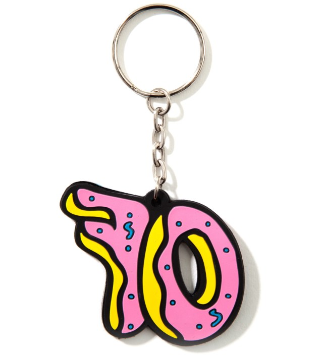 Odd Future OF Donut Keychain