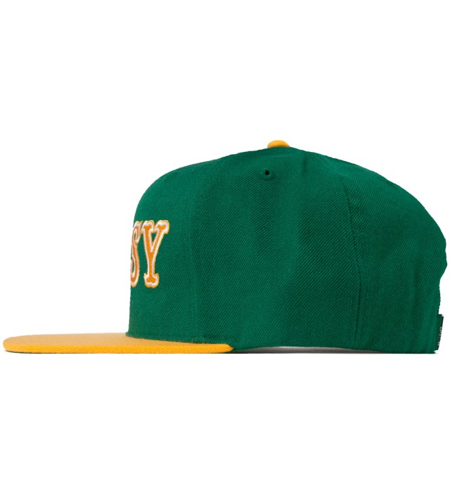 Stussy Green Team Roots Starter Ballcap