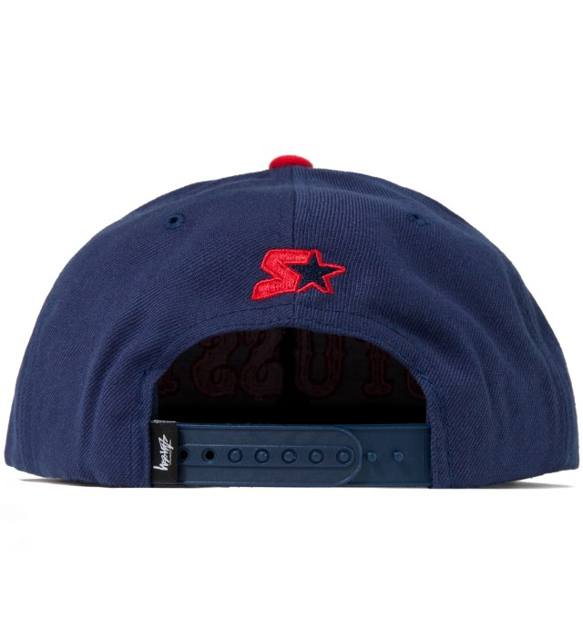 Stussy Navy Team Roots Starter Ballcap