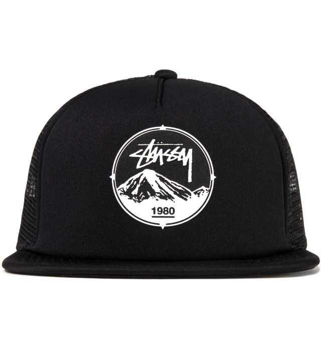 Stussy Black Mountain Trucker Ballcap