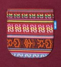 Tantum Burgundy South African Tribe Pocket T-Shirt