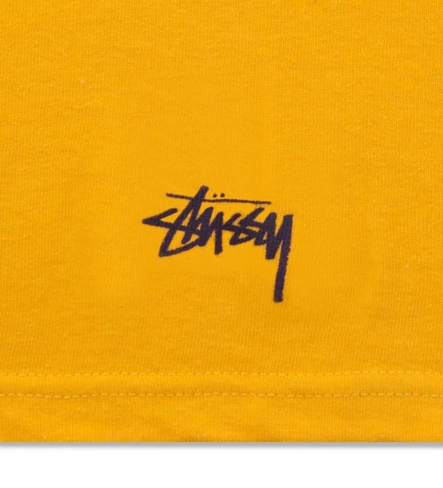 Stussy Yellow West Coast T-Shirt