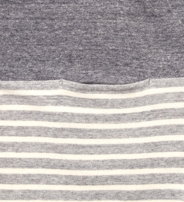 CASH CA Grey Panel Border T-Shirt