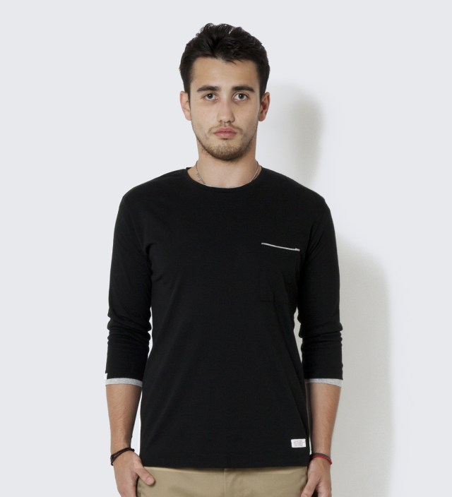 DELUXE Black Layer Cake T-Shirt