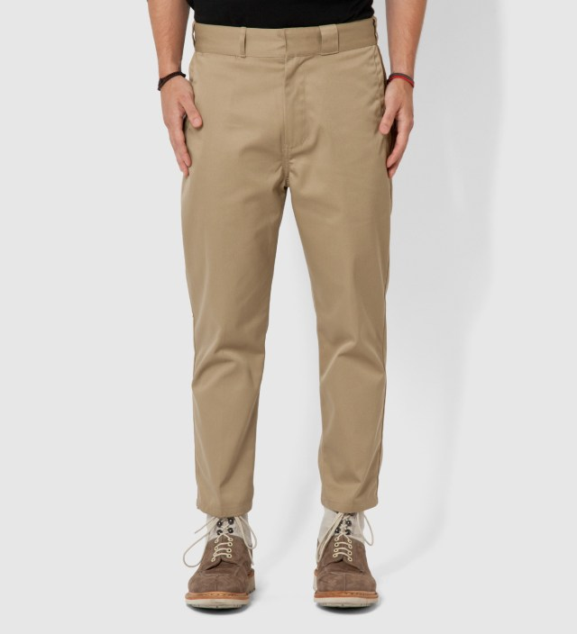 DELUXE Beige Style Thunderbolt Trousers