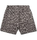 FACETASM Grey Leopard Blanket Shorts