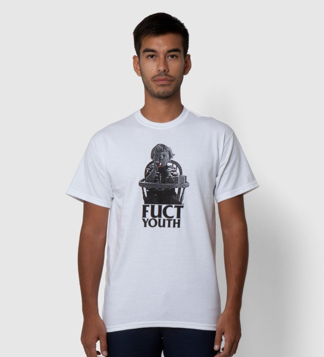 FUCT White Fuct Youth II T-Shirt