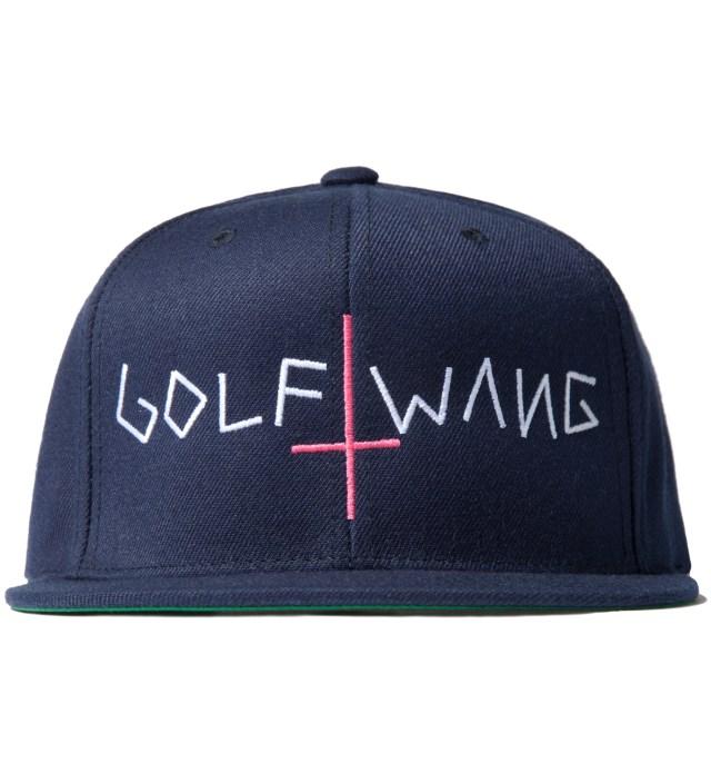 Odd Future Navy Golf Wang Snapback Cap