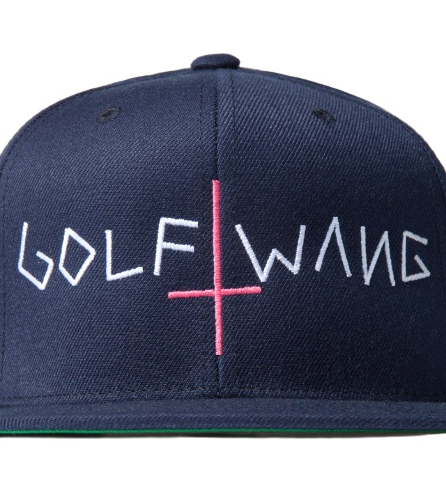 Odd Future Navy Golf Wang Snapback Cap