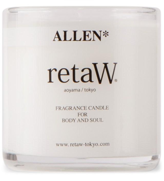 retaW Allen Candle