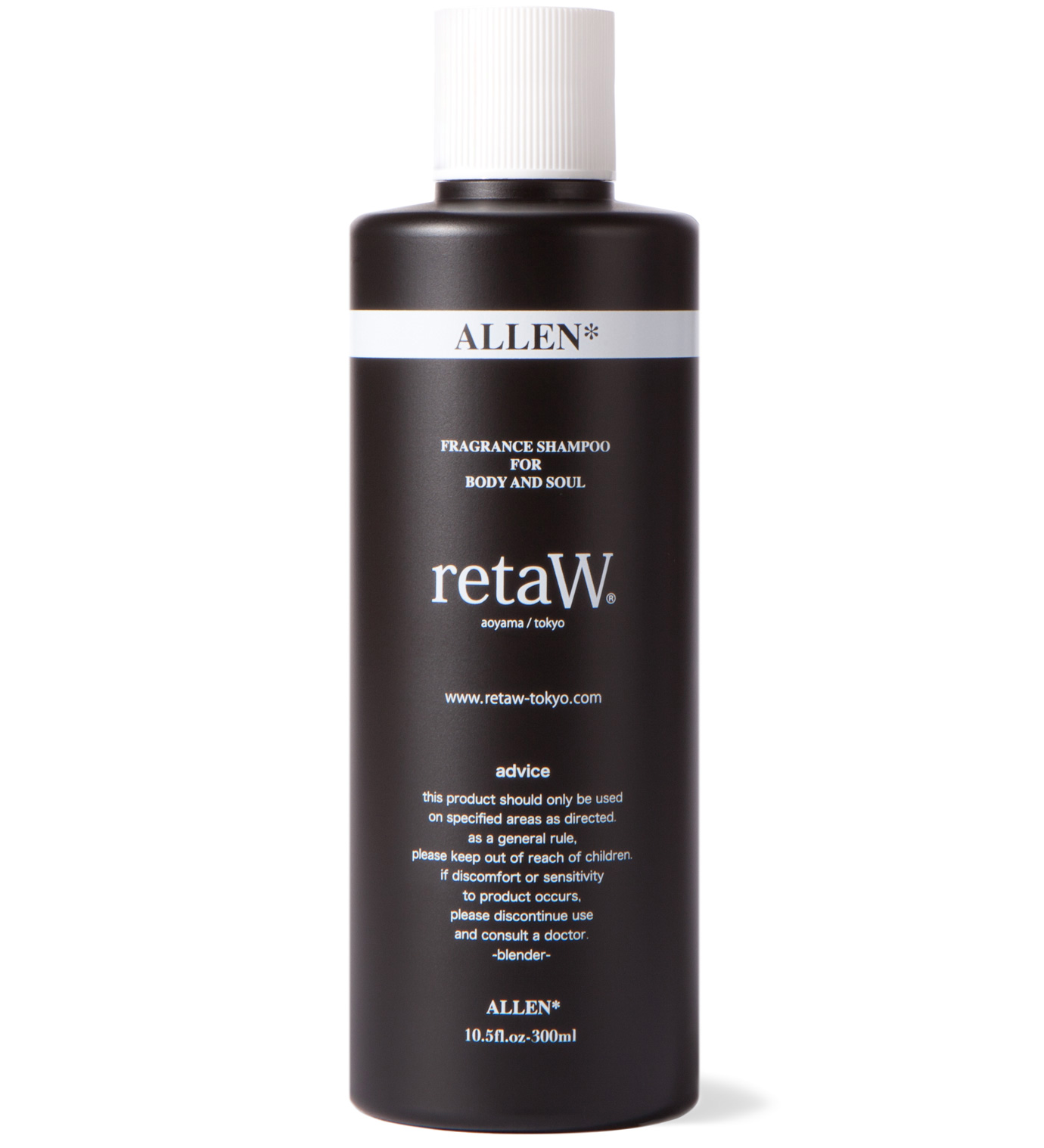 retaW Allen Fragrance Body Shampoo