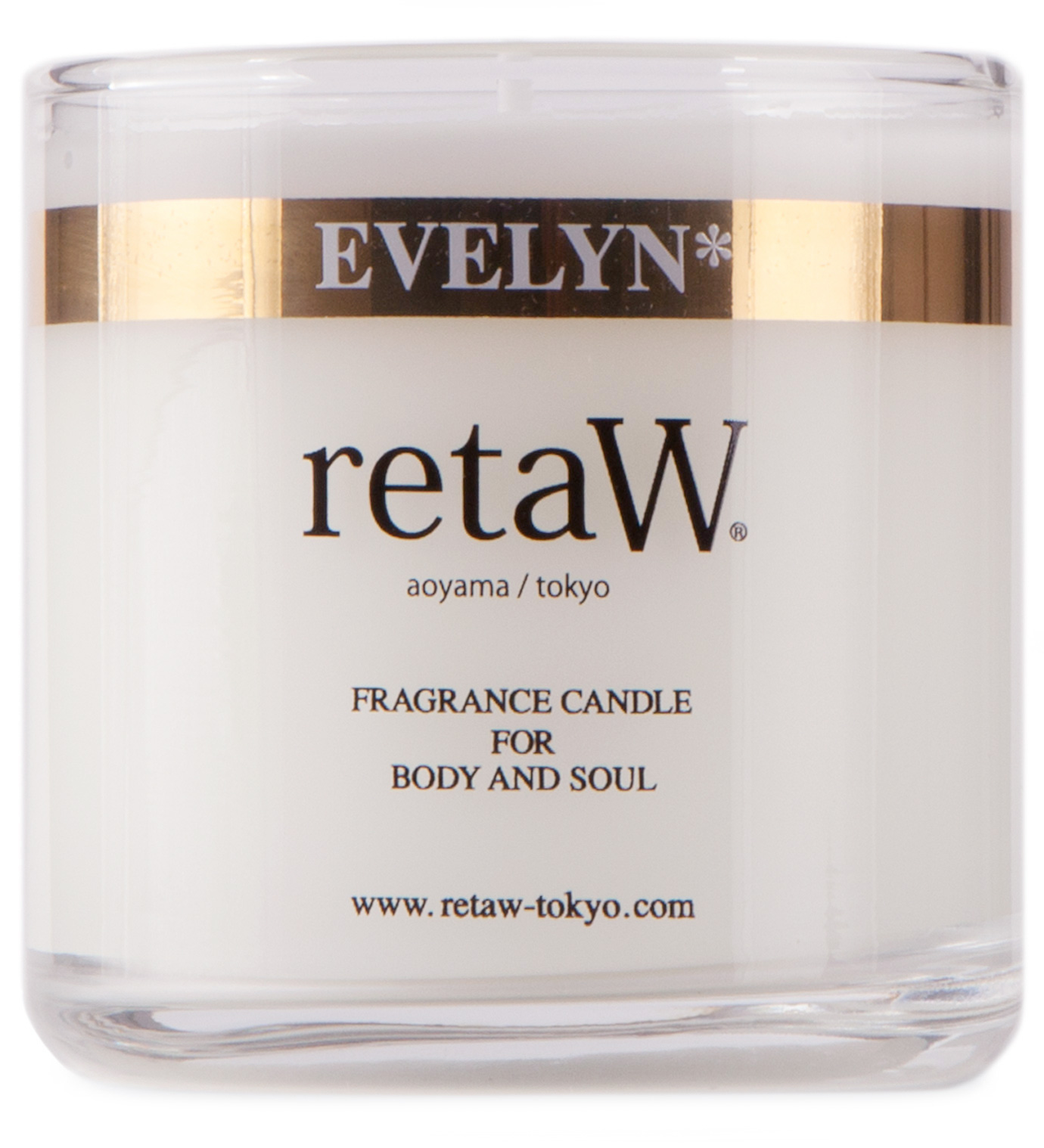 retaW Evelyn Candle