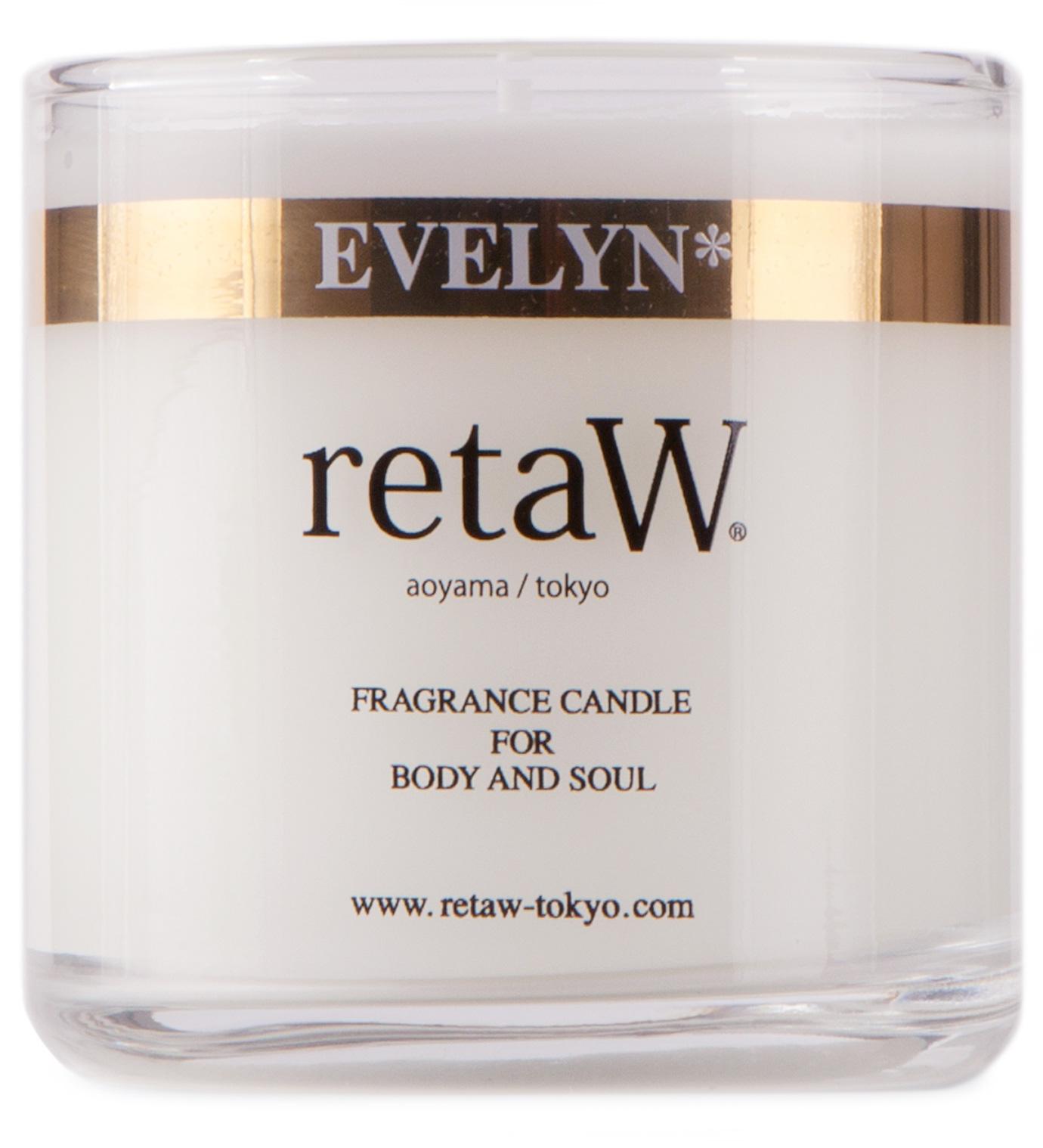 retaW Evelyn Candle