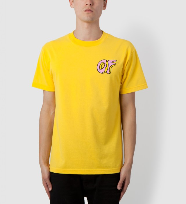 Odd Future Yellow Pink OF Donut T-Shirt