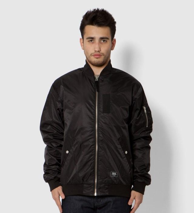 Stussy Black MA1 Jacket