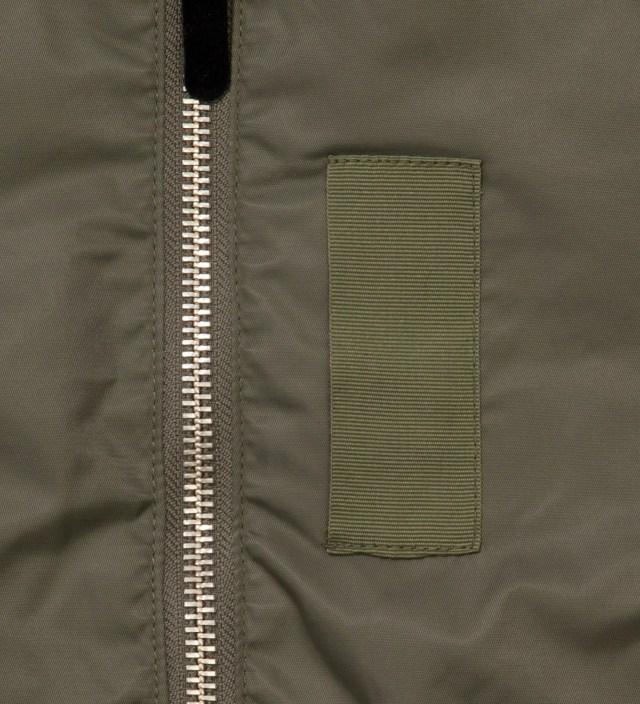Stussy Olive MA1 Jacket