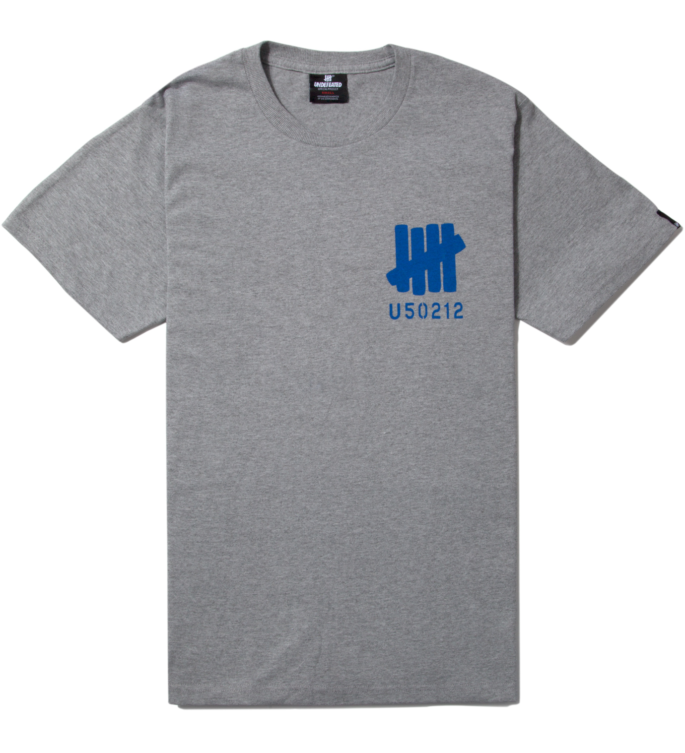 UNDEFEATED Heather Grey SS U50212 T-Shirt