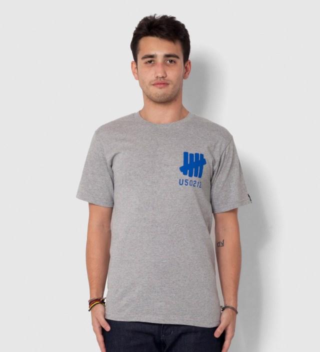 UNDEFEATED Heather Grey SS U50212 T-Shirt