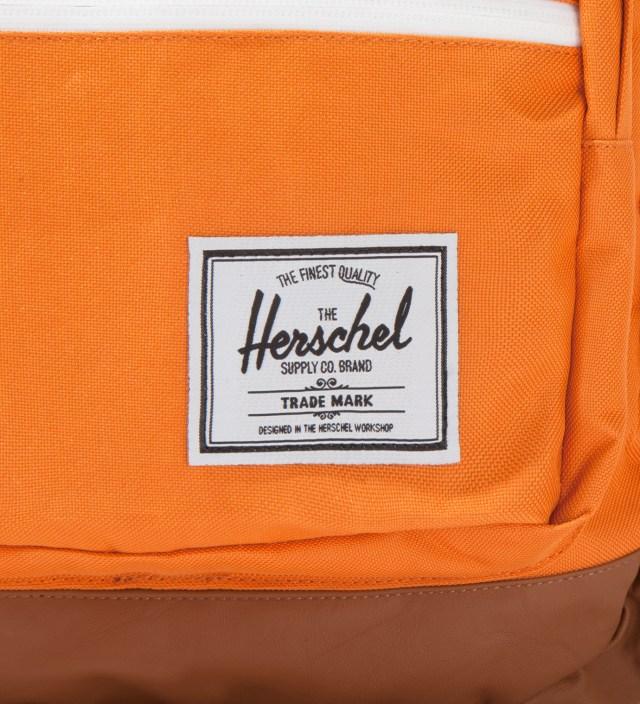 Herschel Supply Co. Orange Pop Quiz Backpack