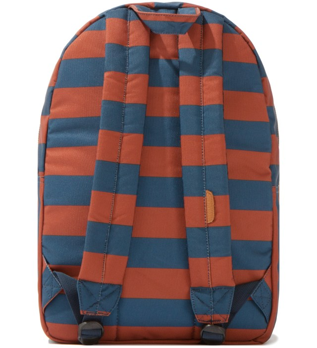 Herschel Supply Co. Navy/Rust Settlement Backpack