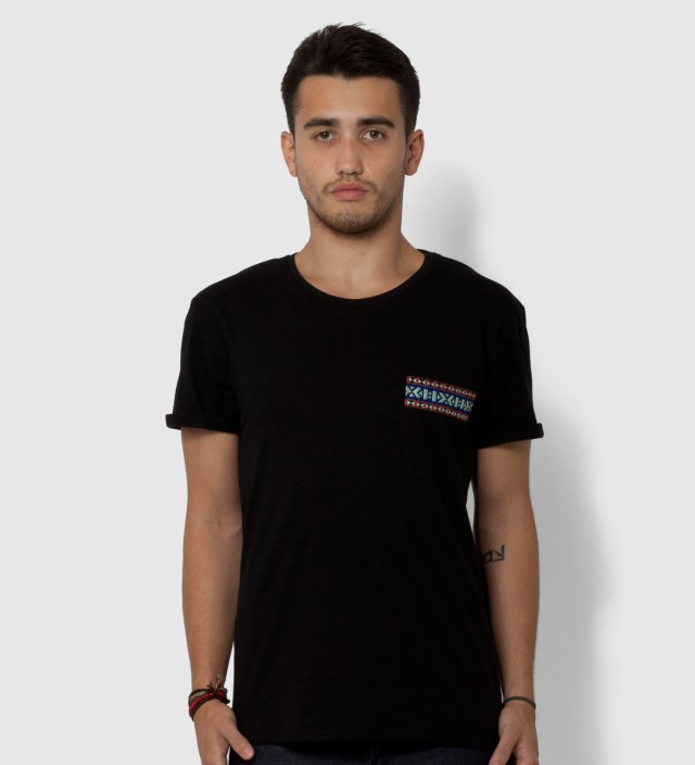 BWGH Black Yaka Pocket T-Shirt