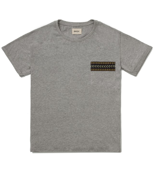 BWGH Grey Yaka Pocket T-Shirt
