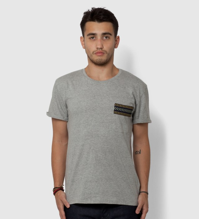 BWGH Grey Yaka Pocket T-Shirt