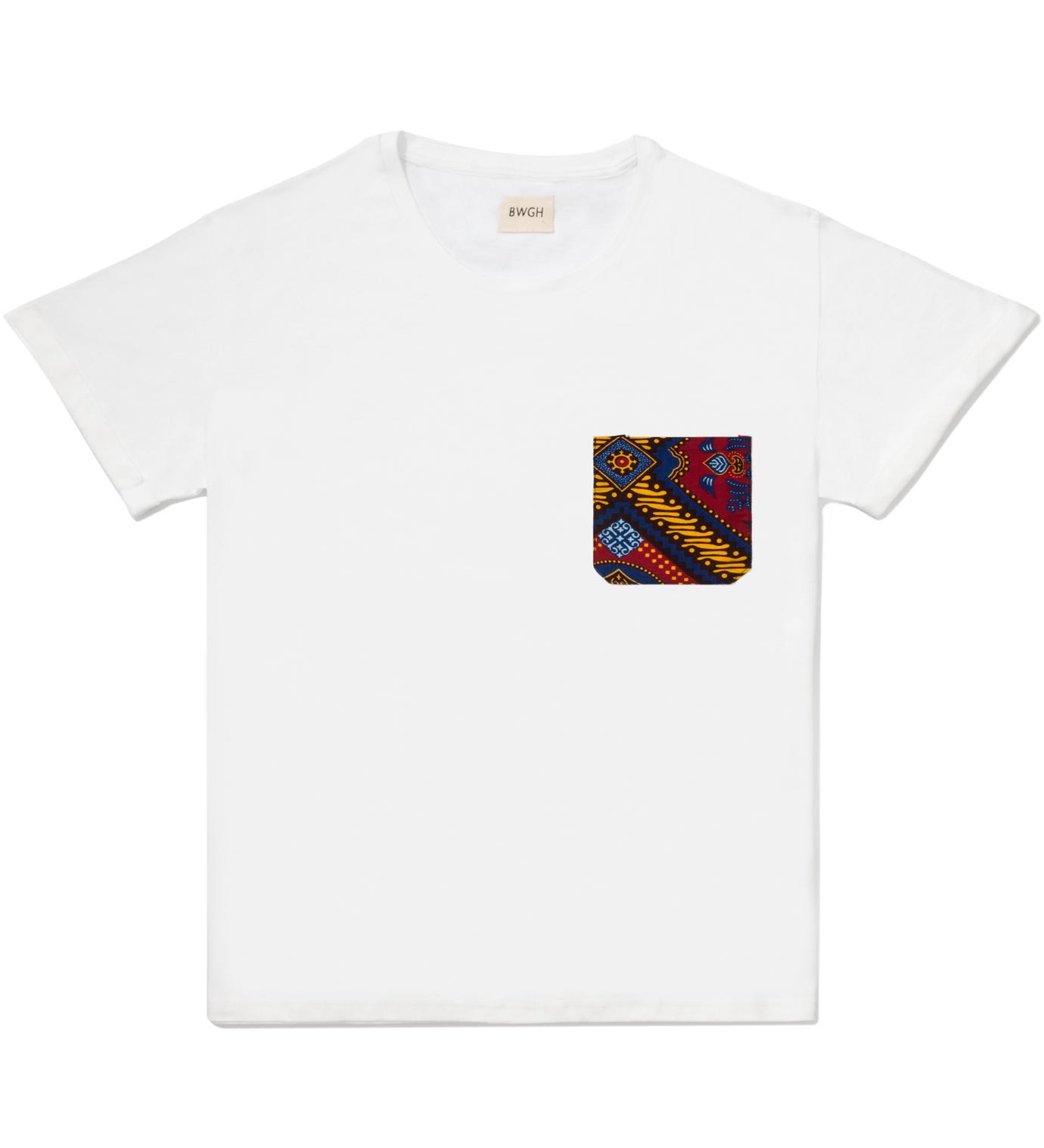 BWGH White Hadimu Pocket T-Shirt