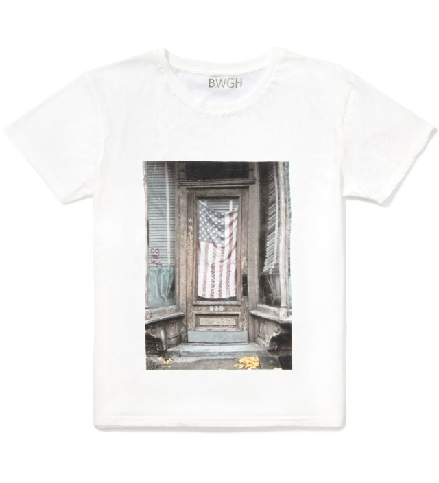 BWGH White National Anthem T-Shirt
