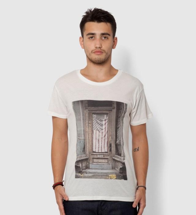 BWGH White National Anthem T-Shirt