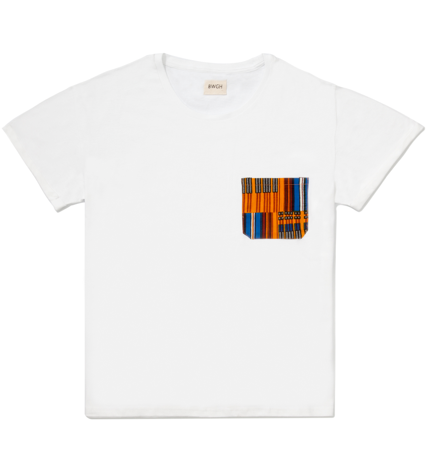 BWGH White Obamba Pocket T-Shirt