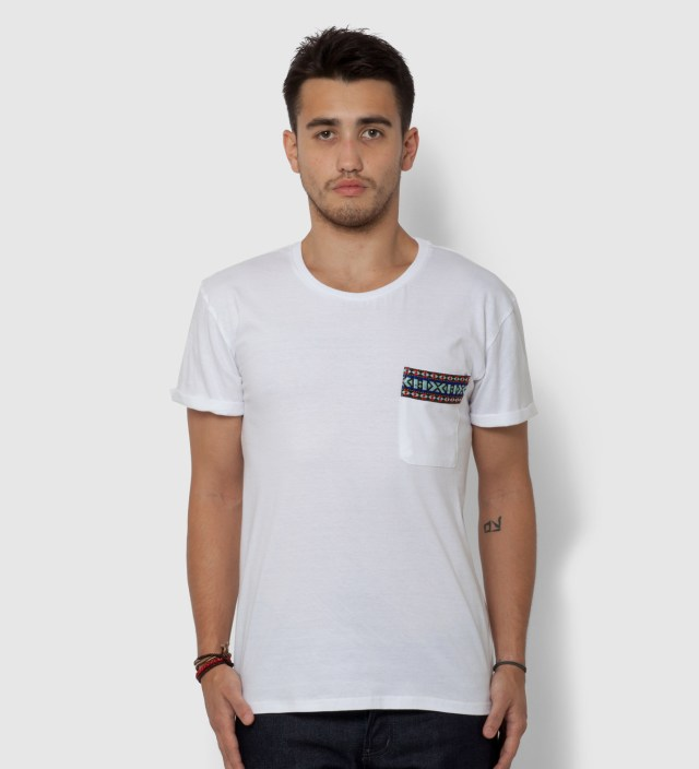 BWGH White Yaka Pocket T-Shirt