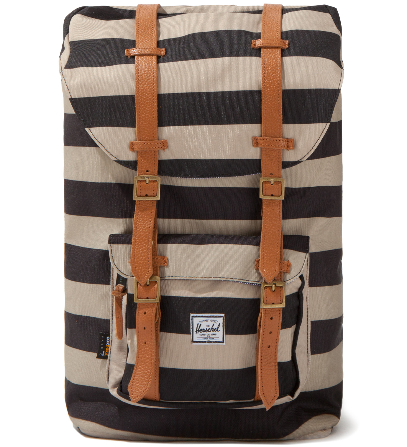Herschel Supply Co. Black/Taupe Little America Backpack