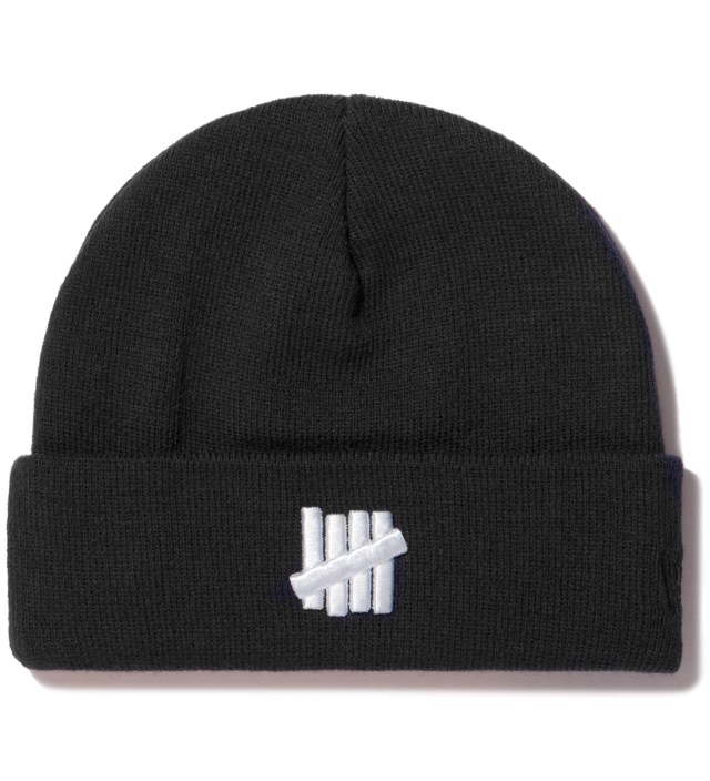 UNDEFEATED Black 5 Strike New Era Beanie